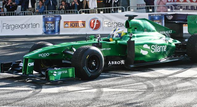 2014 första upplagan av Örebro Race Day Marcus Ericsson
