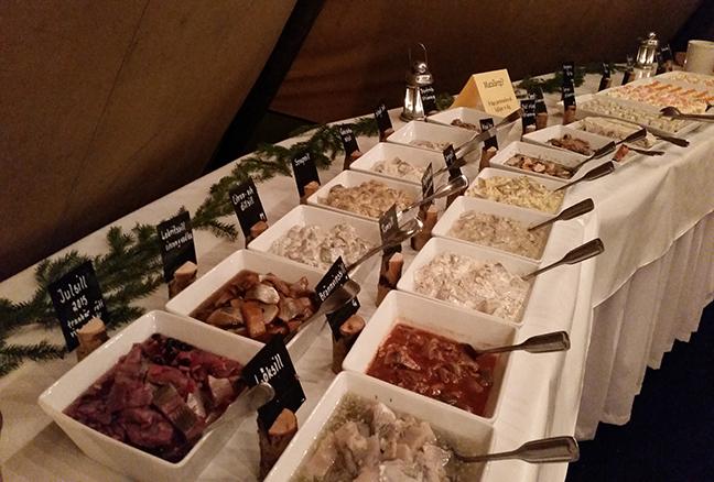 Julbordets Traditionella Sju Tallrikar Totally Orebro
