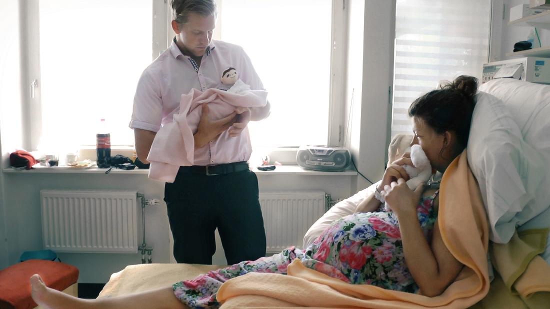 Stillbild från dokumentären Efter Inez