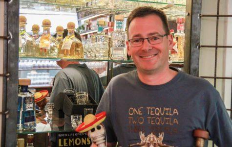 Paco's ägare Geoff tuttle