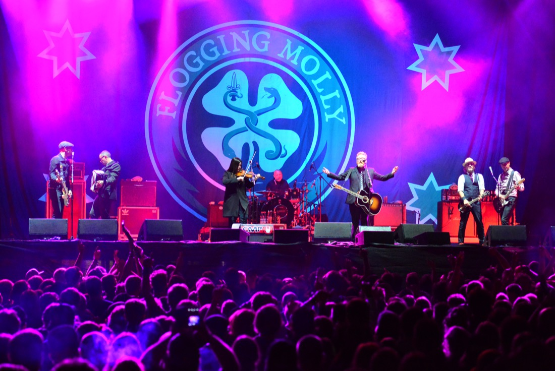 Flogging Molly till Frimis salonger
