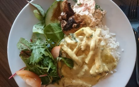 Fredrik lunch