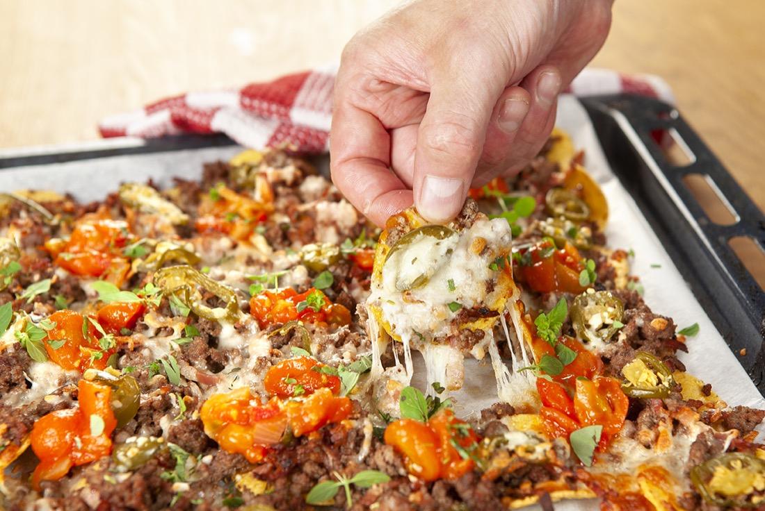 Recept på Nachos