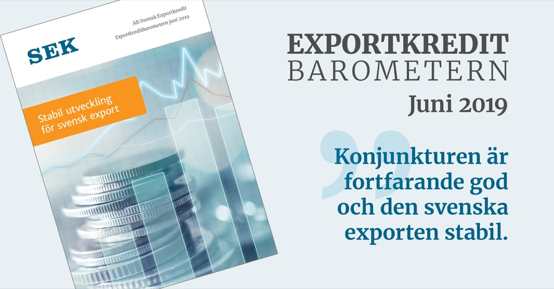 Exportkreditbarometern juni 2019