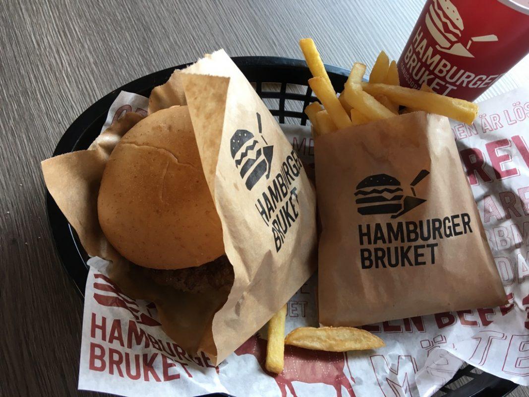 lunch på hamburgerbruket