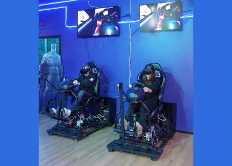 Arkadia VR och deras bilspel