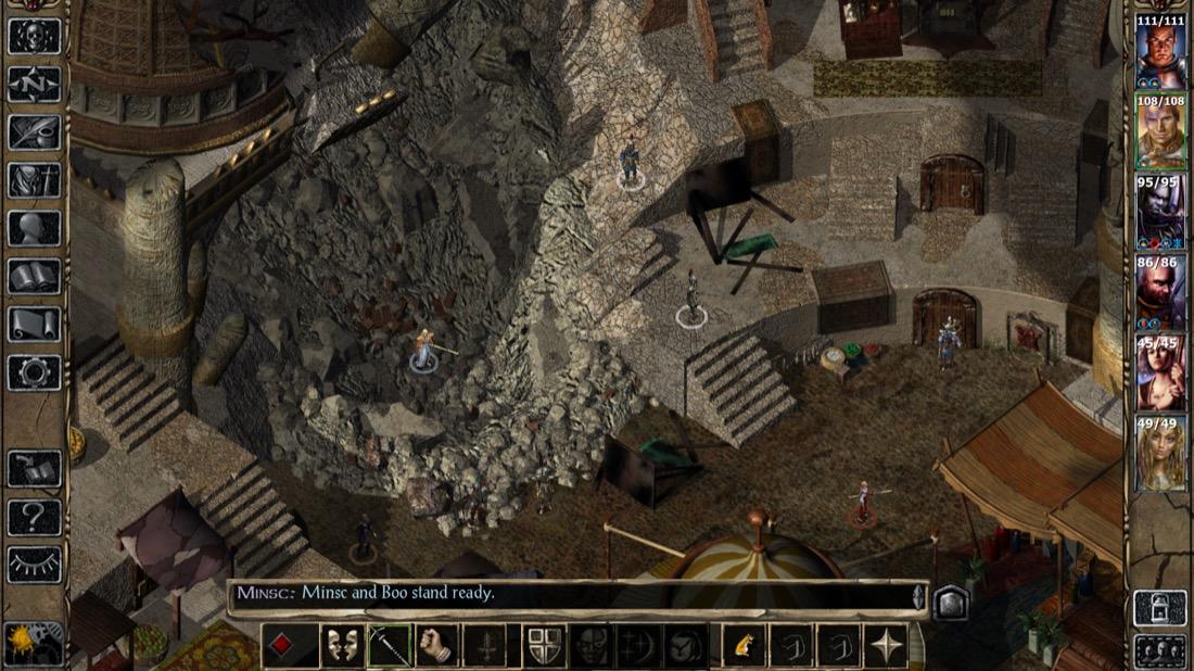 spelsommaren 2000 Baldur's gate II