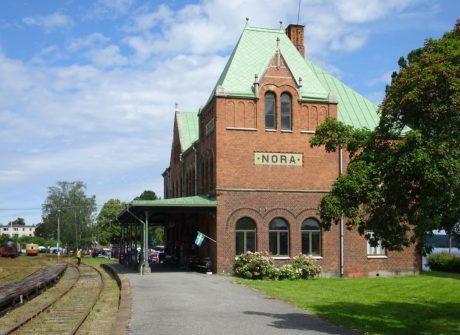 Nora järnvägsstation