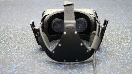 virtual reality oculus rift headset