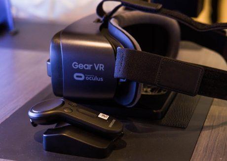 virtual reality headset samsung gear vr