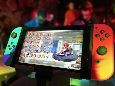 Kappa bar örebro erbjuder spel på Nintendo Switch