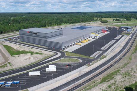 Elektroskandias logistiklager i Örebro - exteriör